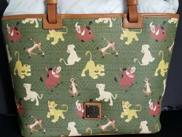 NWT Disney Parks DOONEY /& BOURKE The Lion King TOTE BAG   IN HAND
