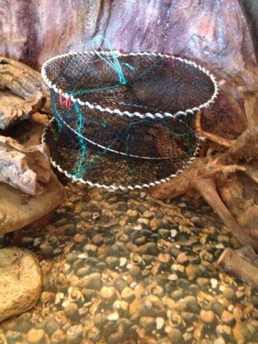 Nr41köderfischreusen Aalreusen Krebsreusen Reuse Angelreusen 45x20cm reusen.Neu.