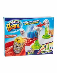 NEW Mighty Beanz Slammer Time Race Track