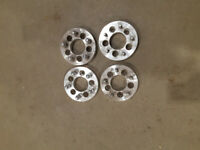 """(4) 1 1/4"""" aluminum Wheel spacers 5x4.5 to 5x5 London Ontario Preview"""