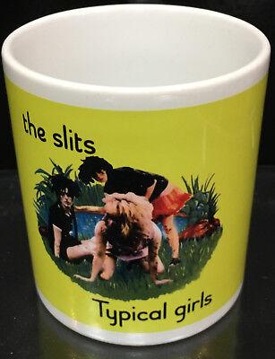 The Slits /'CUT/' COLLECTABLE MUG ari up punk New
