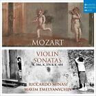 Violin Sonatas von Riccardo Minasi (2016)