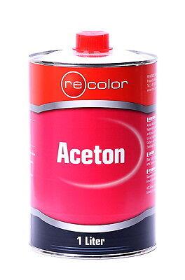 1 Liter Aceton von Recolor für Autolack /ACE1000