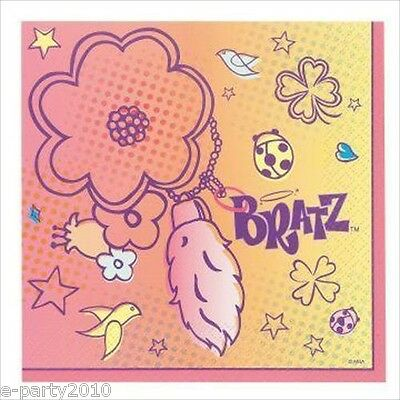 NEW IN PACKAGE  BRATZ  16 LUNCHEON NAPKINS