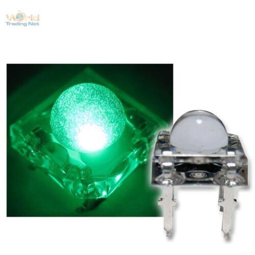 20 SuperFlux LEDs GRÜN PIRANHA 5mm GREEN SPIDER LED Leuchtdioden grüne green