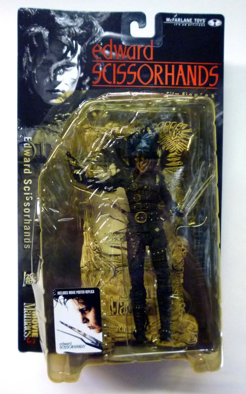 McFarlane Toys Toys Toys Movie Maniacs Series 3 Edward Scissorhands Johnny Depp New 2000 602663