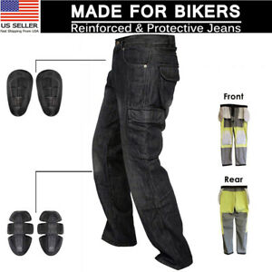 Men-Motorbike-Motorcycle-jeans-Reinforced-Aramid-Fabric-Protective-Armour-Pants