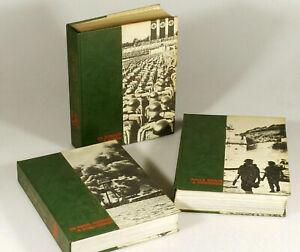 PRL-WWII-WAR-II-TUTTA-LA-SECONDA-GUERRA-MONDIALE-3-VOLUMI-1974-READER-039-S-DIGEST