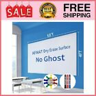 6'x4' Whiteboard Paper, White Board Adhesive Wallpaper, Large Dry Erase 6x4 ft