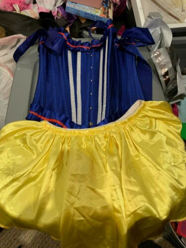 WOMENS DAISY CORSETS SNOW WHITE SET COSTUME