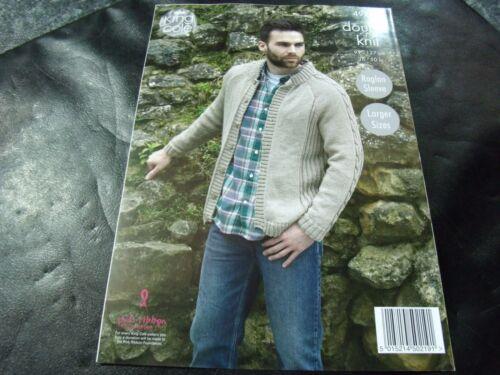 91-127 cm King Cole Double Knit Mens Sweaters /& Jacket Pattern 4925