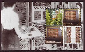 Grande-Bretagne-2015-La-Alan-Turing-Volet-2-non-Montes-Excellent-Etat