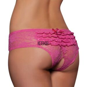 Mujer-Sexy-tanga-Bragas-Sin-Entrepierna-Pantalon-Ropa-Interior-Talla-Grande