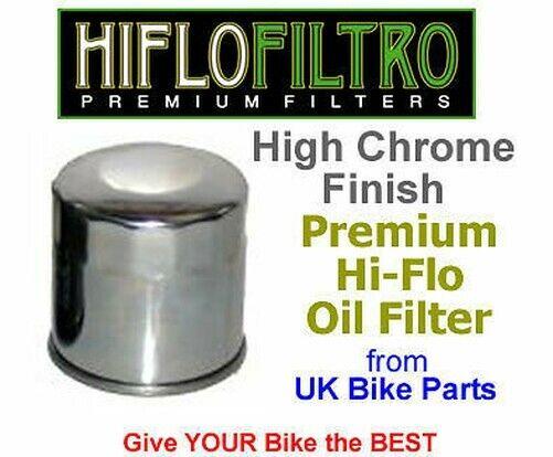 Cromo Hiflo Aceite Filter-Honda CB500, CB600, CBR600, Hornet - HF303