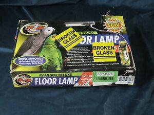 Avian Sun Deluxe Uv Floor Lamp Stand For Parrots No Bulb Ebay