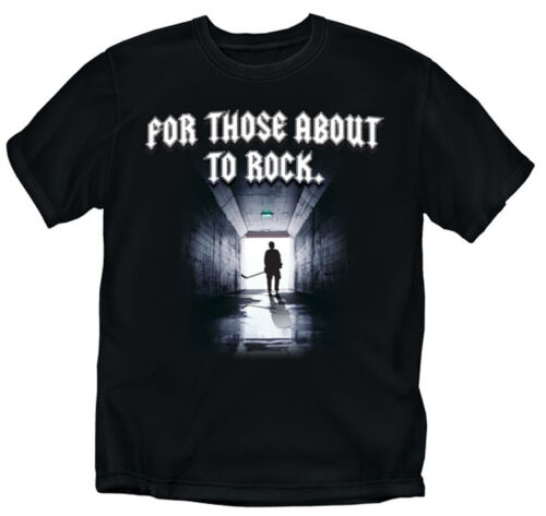 For those about to Rock Hockey Youth Sizes Black