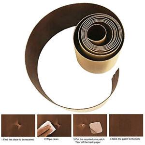 selbstklebend patch lederreparatur kunstleder flicken braun de ebay. Black Bedroom Furniture Sets. Home Design Ideas
