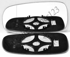 Left Passenger Side Wing Mirror Glass WIDE ANGLE HEATED Saab 2003-2010