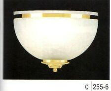 "Minka-Lavery WALL SCONCE 255-6 Feathers Polished Brass 10""W 7""H 5""E 1-100W Med"