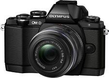 Olympus OM-D E-M10 schwarz + 14-42mm II R ! EM10 E-M 10 Kit 14-42 + 75€ Cashback