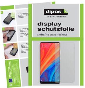 2x-Xiaomi-Mi-Mix-2S-Protector-de-Pantalla-protectores-mate-dipos