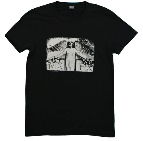 Sized Juniors T-shirts Black Angel Cat Artwork BRAND NEW Mxpx Classic Girl