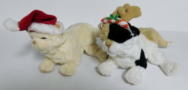 2005 FUR REAL FRIENDS HOLIDAY NEWBORNS / LOT OF 2 / BOTH WORKING