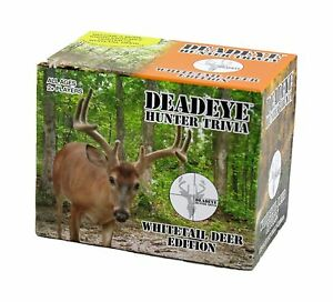 Deadeye Whitetail Deer Hunter Trivia Card Game