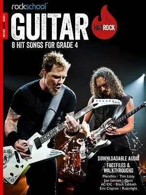 Online * Instruction Books, Cds & Video Discreet Rockschool Guitar Hot Rock Grade 4 Guitar