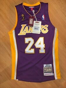 Details about Mitchell and Ness Los Angeles Lakers Kobe Bryant Jersey Size Small 36