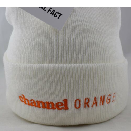 Véritable Fact Frank Ocean Channel Orange Hip Hop Roll up blanc bonnet