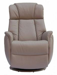 Image Is Loading Sorrento Leather Electric Recliner Chair Swivel Recliner  Rocking