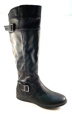 Wanderlust Malia T15853 Black Weather Resistant Knee High Winter Boots