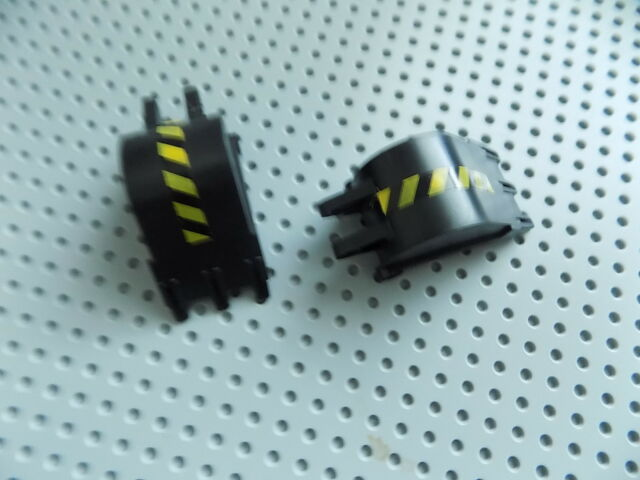 1x Vehicle Digger Bucket 4x4x9 3 Teeth 2950 Black//noir//schwarz Lego