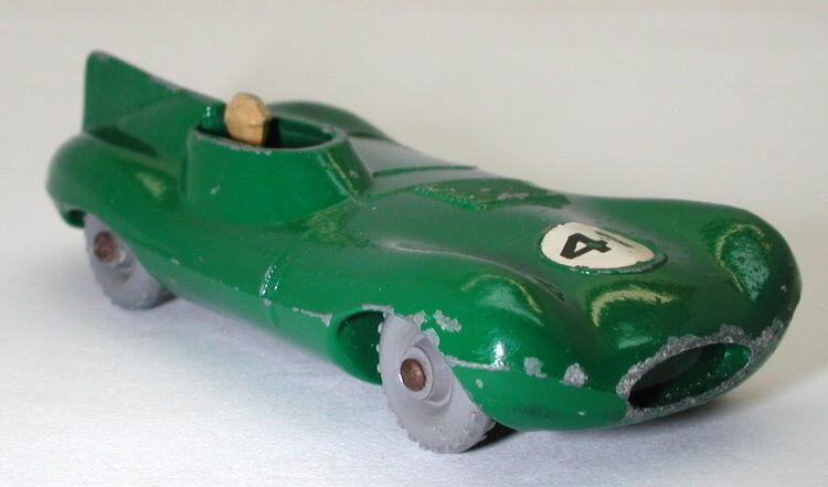 Matchbox lesney nr. 41 d type jaguar graues rad oc11180