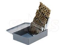 29 Pcs 116 12 X 64ths M35 Cobalt Straw Jobber Drill Set Huot Index Box P