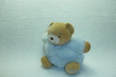 Ours Classique Doudou ours bleu ciel fourrure Fur KALOO 18 cm