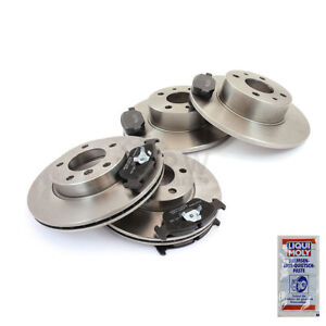 Brake-Discs-Brake-Pads-Front-Rear-for-Mercedes-Benz-SLK-R171-CLK