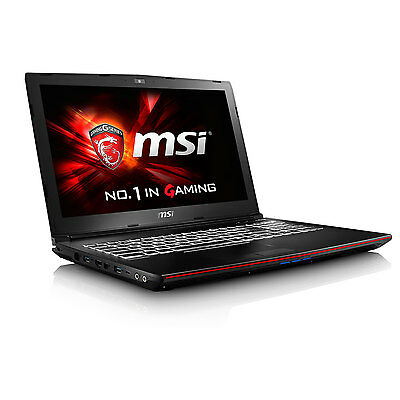 MSI Notebook GP62 Intel Core i5-6300HQ - 4GB - nVidia Geforce GTX 960 - 500GB