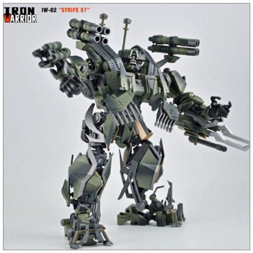 Transformers Iron Warrior IW-02 Strife-07 Brawl Assemble Action Figure MIB