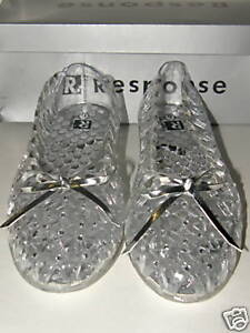Jelly-Stone-Sandals-Womens-Shoes-Clear-Size-6-to-12-New