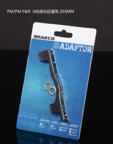 Brakco PM//PM PM//IS Mount Disc Brake Adaptor For 180//203mm Rotors Calipers Mount