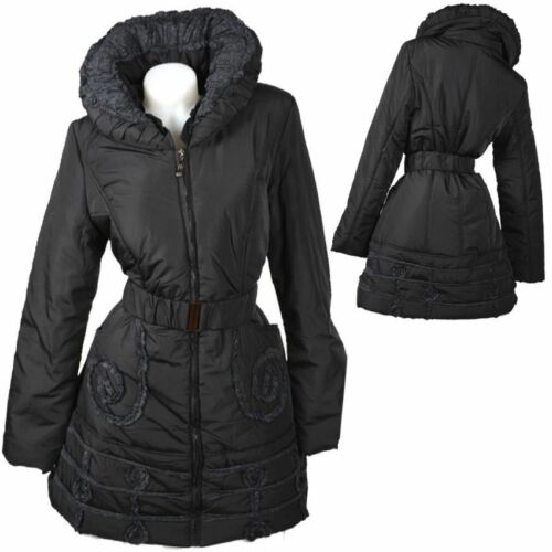 Veste Coat Ski Noir 38 Doudoune Trench 42 Manteau M Parka D'hiver L 40 Anorak H6wZIRrqHx