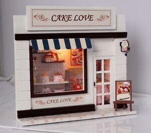 Dollhouse Miniature Kit C 004 European Mall Bakery Shop