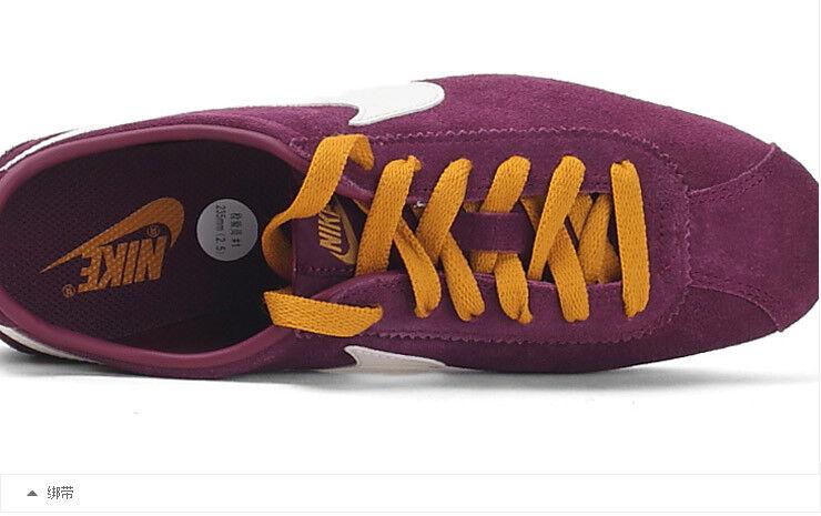 Damenschuhe Nike Lady Cortez Leder <Sneaker Leder <Sneaker Leder Neu Gr:40,5 Bordeaux gold capri 5ade23