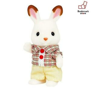 New-Sylvanian-Families-doll-chocolate-rabbit-boy-F-S-from-Japan