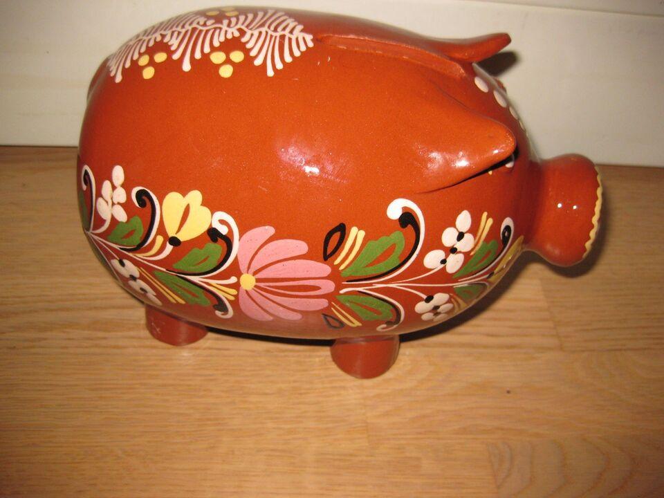Sparebøsse, Gammel keramik gris