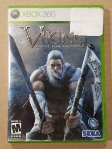Viking-Battle-for-Asgard-Microsoft-Xbox-360-2008-Complete-Tested