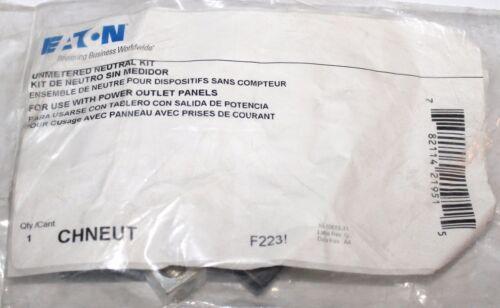 EATON CUTLER HAMMER CHNEUT Unmetered Neutral Kit 682911H21 F223 2//0 Neutral Assm