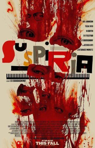 Art Suspiria Movie Poster 20x30 24x36 Luca Guadagnino Horror Remake P542